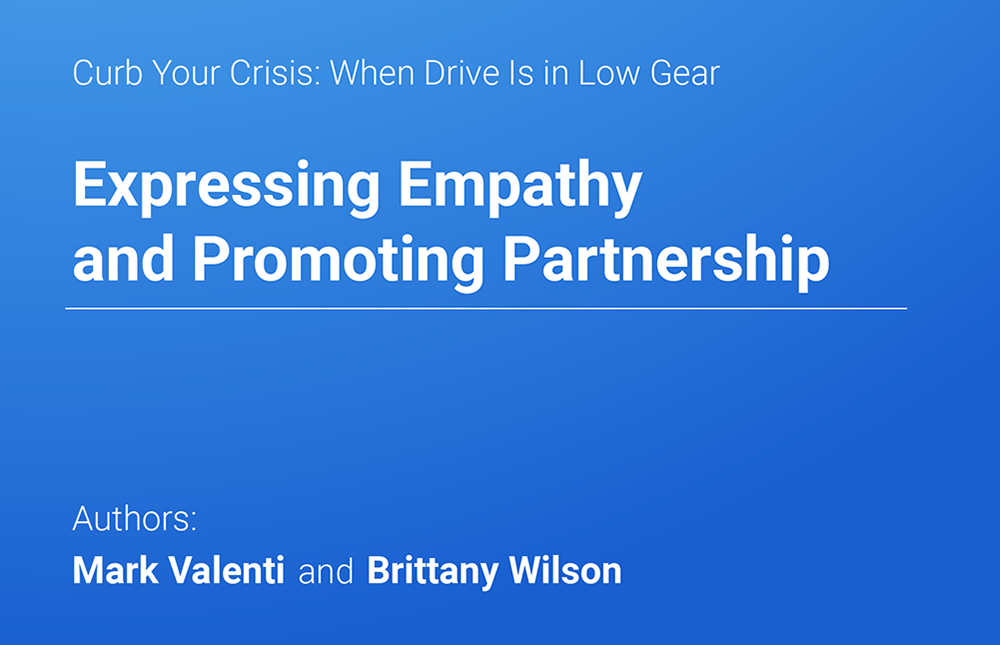 Expressing Empathy and Promoting Partnership Part 1 - Mark Valenti & Brittany Wilson | MedBridge